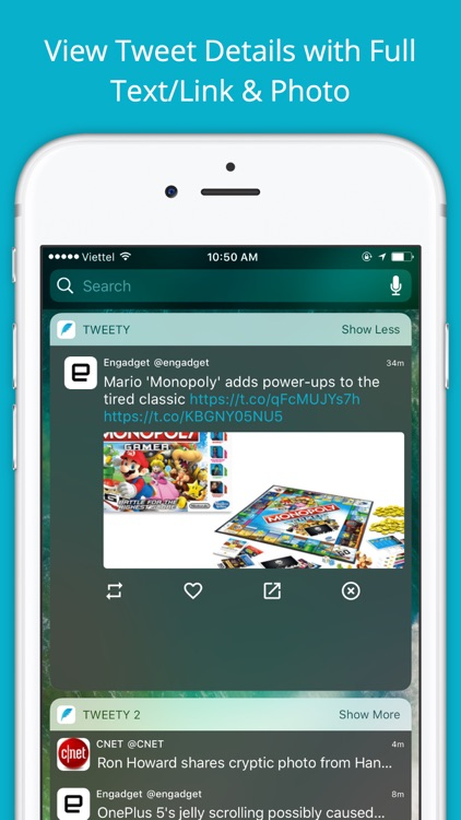 Tweety Pro - Show Twitter Timeline on Lock Screen