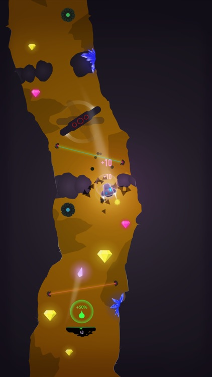 Cave FRVR - Space Ship Landing screenshot-3