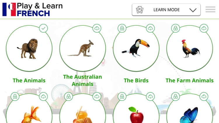 Play and Learn FRENCH - Language App