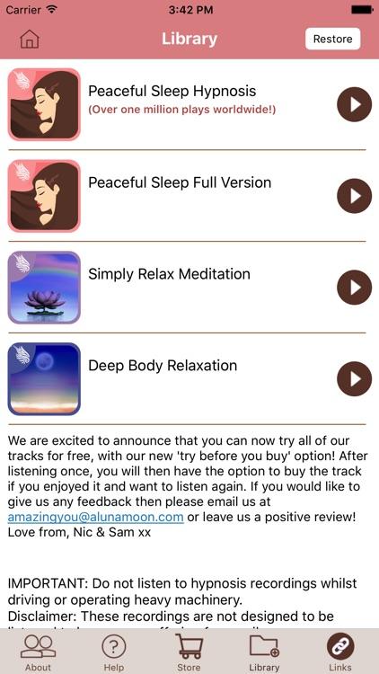 Peaceful Sleep Hypnosis for Deep Relaxation by Aluna Moon