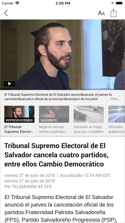 Telemundo 44 screenshot-3