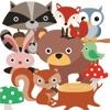 Forest Animals Sticker Pack