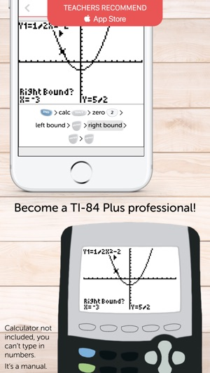 Ti 84 Graphing Calculator Man On The App Store
