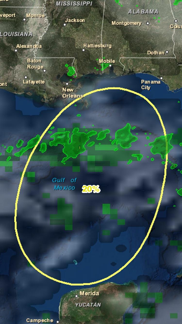 Atlantic Hurricane Tracker Screenshot