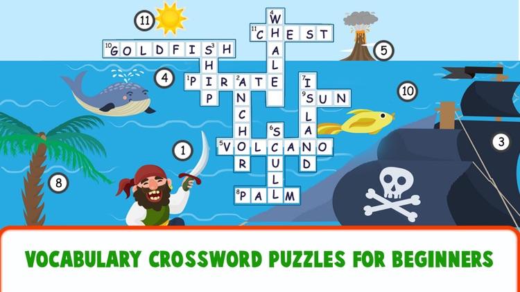 Educational Crossword For Kids screenshot-6