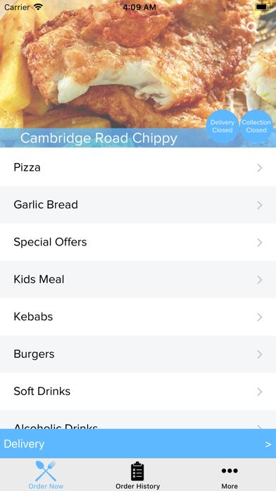 Cambridge Road Chippy screenshot two