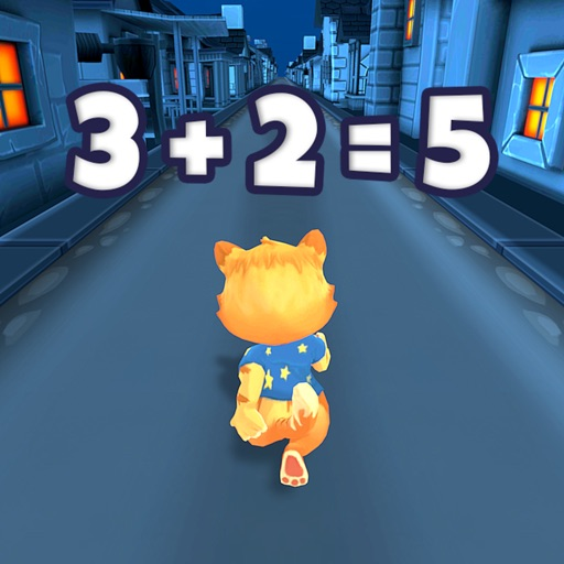 Toon Math Endless Run