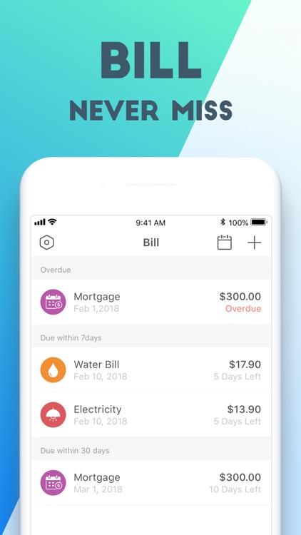 Pocket Expense 6 screenshot-3