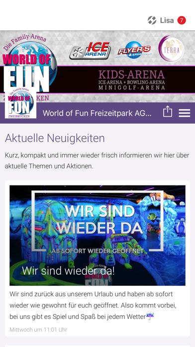 World of Fun Freizeitpark by Tobit Software (iOS, United