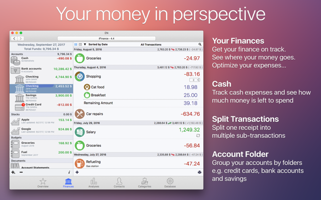 ‎iFinance 4 Screenshot