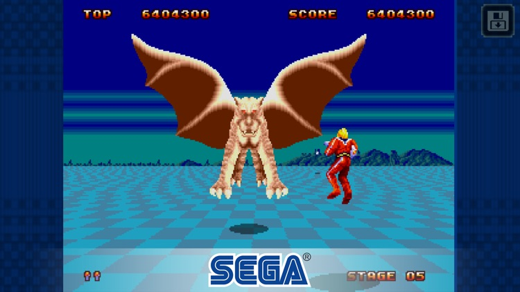 Space Harrier II Classic screenshot-3