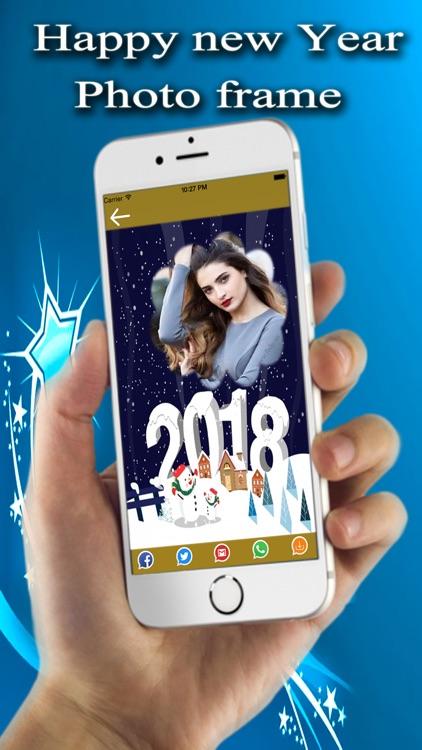 New Year Photo Frames 2018 screenshot-3
