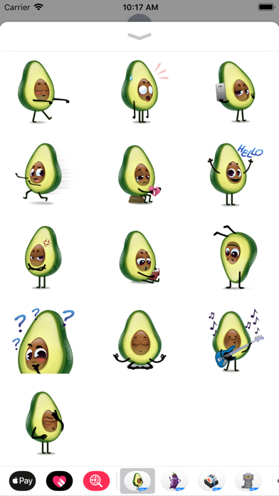 Avocad'oh by Moji screenshot 4
