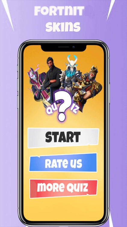 New Skins Quiz for fortnit...