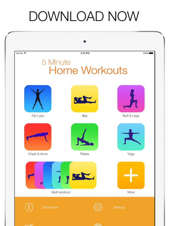 5 Minute Home Workout-ipad-4