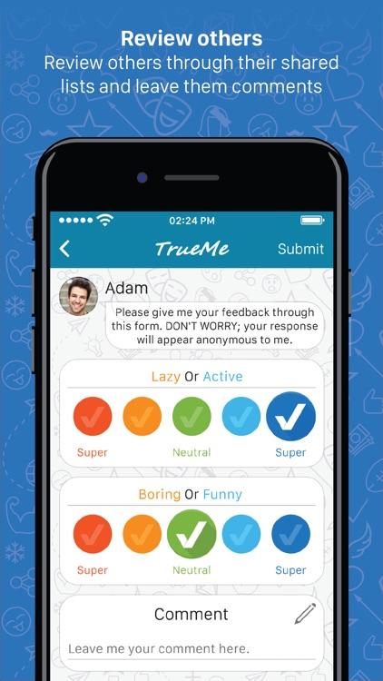 TrueMe - Discover yourself screenshot-3