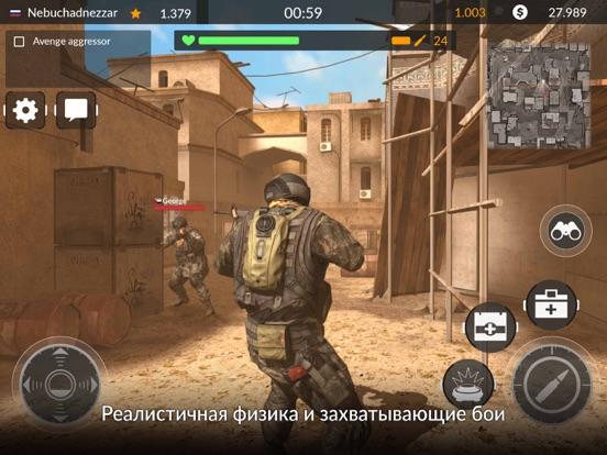Code Of War: Онлайн шутер для iPad