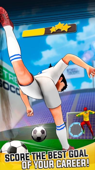 Mobile Soccer Cartoon 2018 Screenshot on iOS