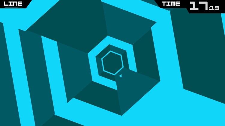 Super Hexagon screenshot-3