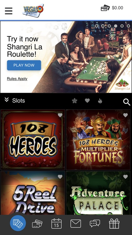Vegas Palms Online Casino screenshot-7