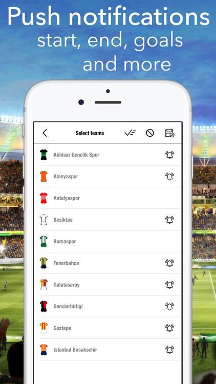Football - Super Lig Turkish screenshot-4
