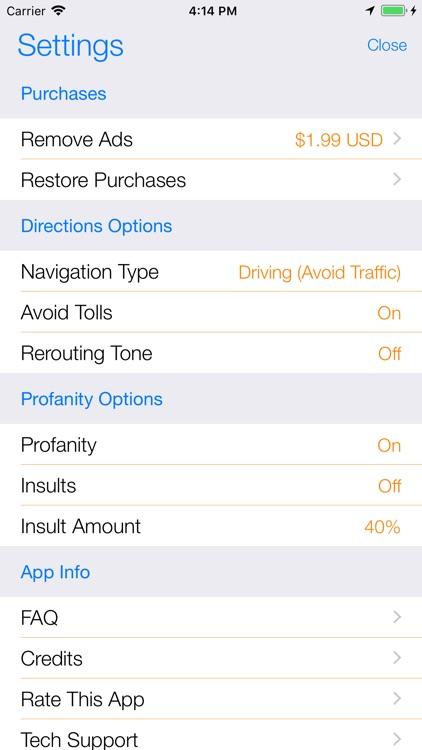 Back Seat Navigator screenshot-4