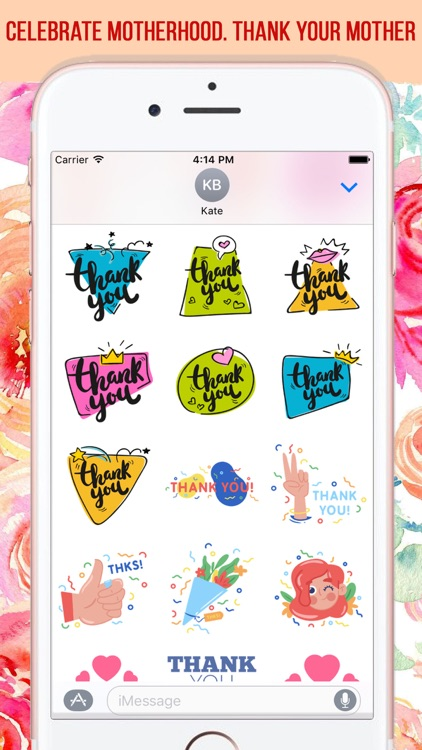 Mother's Day Stickers Pack screenshot-3
