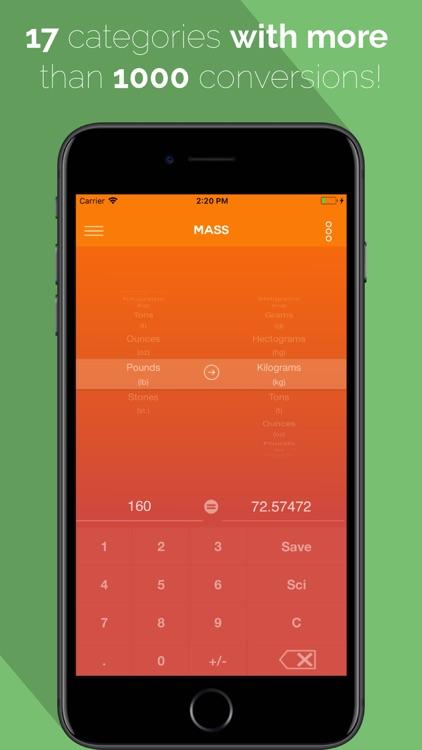 EZPZ Unit Converter screenshot-0