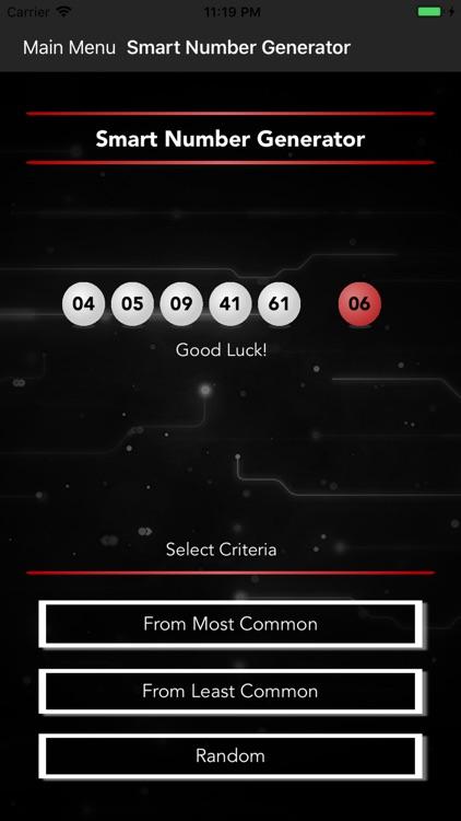 Smart Numbers for Powerball screenshot-4
