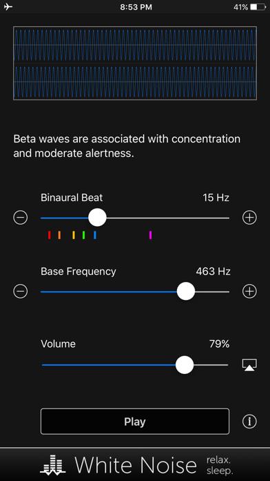 Binaural Beats Generator + screenshot 4