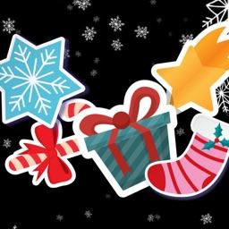 Christmas Sticky Sticker