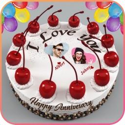 Anniversary Cake Photo Editor