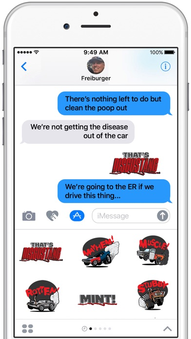 Roadkill Stickers Screenshot