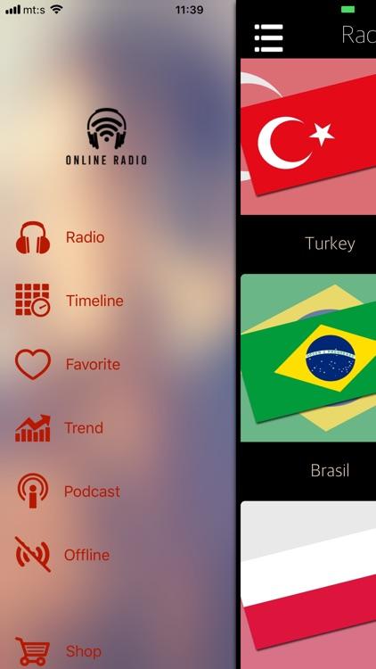 Online Radio Stations App by Danijel Cvetkovic