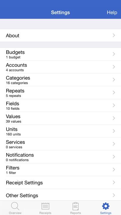 Receipts Pro - Expense Tracker screenshot-4