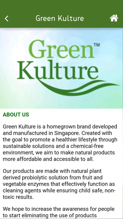 Green Kulture by Technopreneur's Resource Centre Pte Ltd