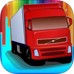 Sevimli Araba Kamyon Boyama Kitabı Oyunu App Storeda