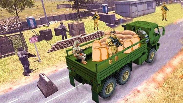 Us Offroad Army cargo truck screenshot-6