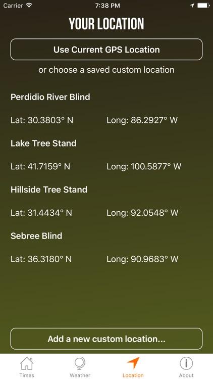 Solunar Best Hunting Times screenshot-3
