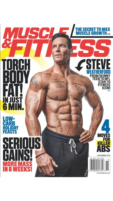 Muscle & Fitness Screenshot