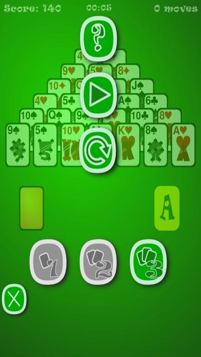 Classic Pyramid Solitaire UN screenshot 2