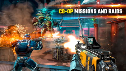 Screenshot from Shadowgun Legends MMO FPS PvP