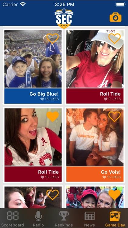 SEC Football Scores screenshot-3