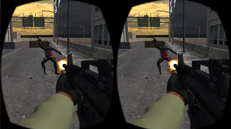 VR City Commando Shooting screenshot-4