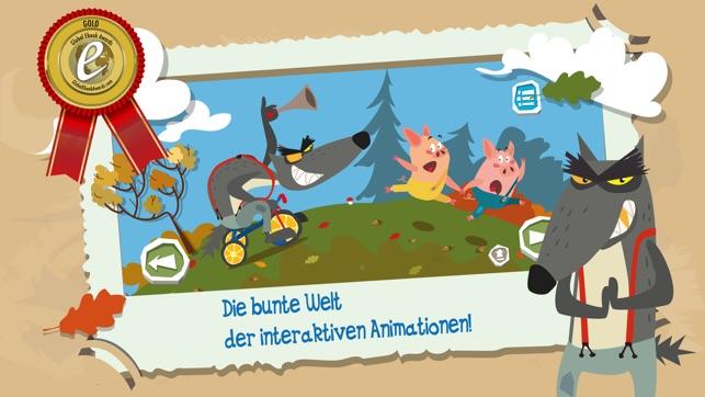 Three Little Pigs vs The Wolf Screenshot