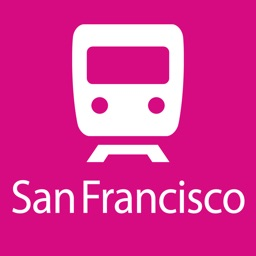 San Francisco Rail Map Lite
