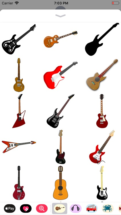 Groovy Guitar Stickers screenshot-6