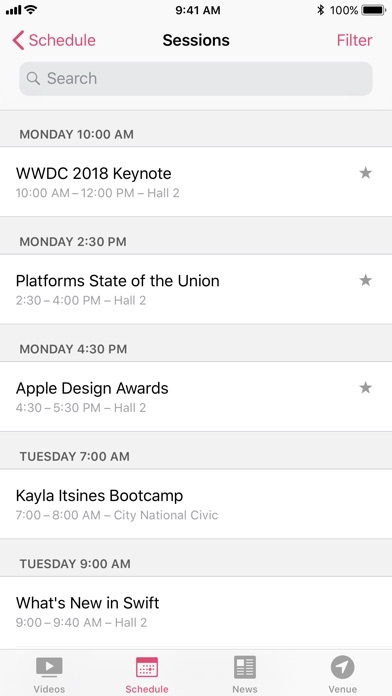 Baixar WWDC para Android