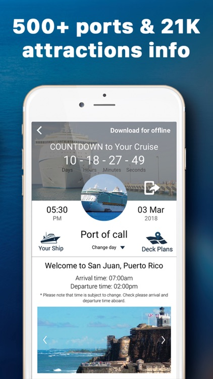 Cruise Planner App by CruiseBe screenshot-3