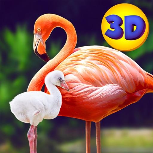 Wild Pink Flamingo Sim iOS App